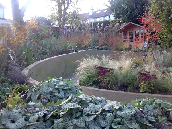 garden designers for a sloping garden layout - Garden Design Knaresborough