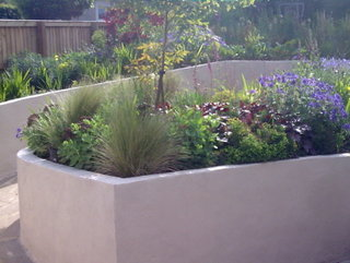 landscaped gardener garden with a ramped path roundhay leeds