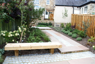 Garden after garden design and landscaping near Keighly, North Yorkshire