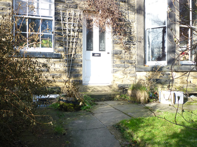 Front Yard Garden at Headingley, Leeds Before Design