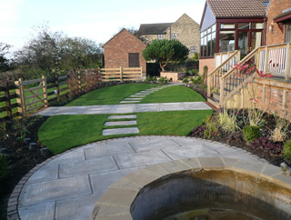 Garden Design Yorkshire back garden makeover designs in west yorkshire