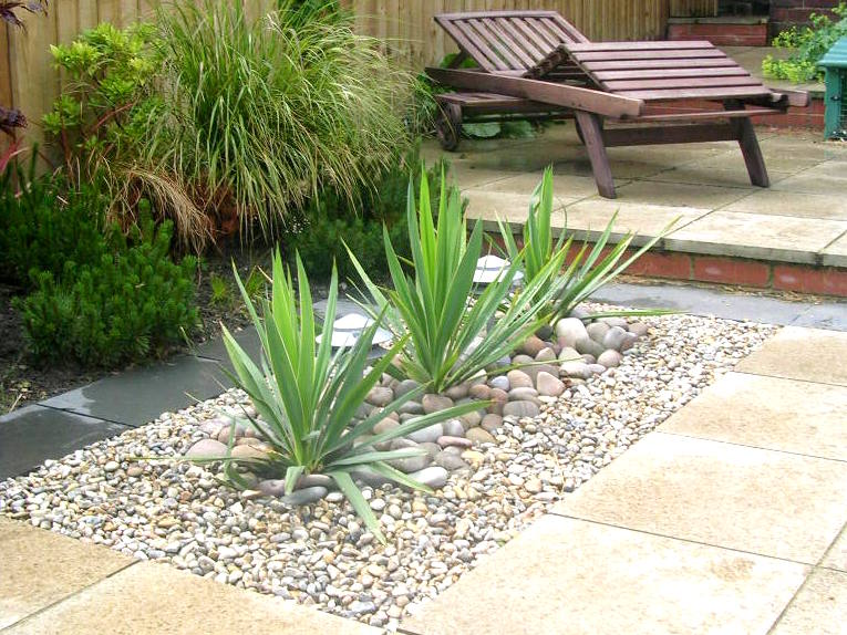 Garden Design Yorkshire long terrace garden