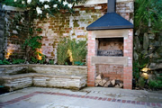 garden landscaping for a courtyard garden in Otley by Paperbark Garden Design