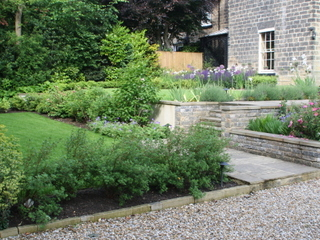 Back garden makeover designs in west yorkshire for Garden design yorkshire