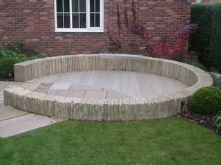 Circular Garden Designs D Mock Up Of Large Circular Garden