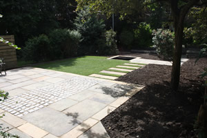 Hard Landscaping garden in Headingley Leeds
