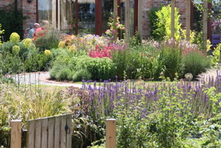 Garden Landscaping near Selby for a large country garden by Paperbark garden design