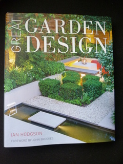 Great Garden Design book with Paperbark Frame Sculpture in Yorkshire featured book front cover