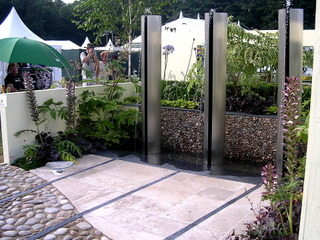 garden landscaping show garden at RHS Tatton by Paperbark Garden Design